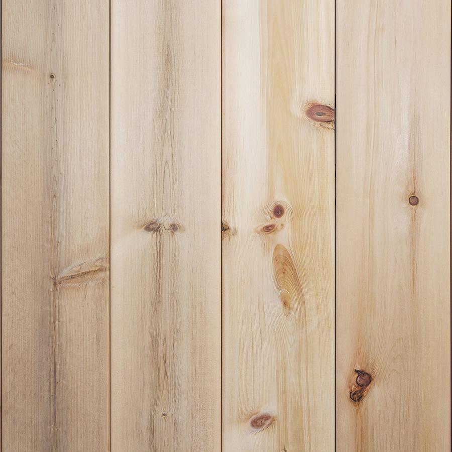 Cedar deck panels
